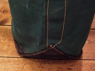 8周年−LLビーン 緑紺トート (9).jpg