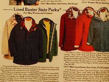 26a317fa596 Flannel-lined field jackets ala the old Baxter State Parka